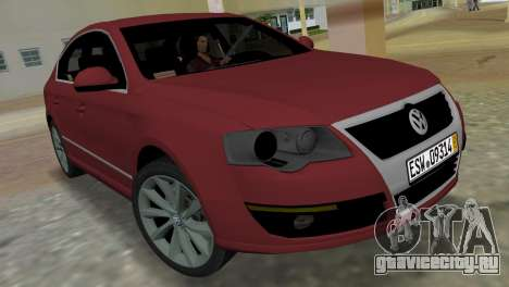 Volkswagen Passat 2007 для GTA Vice City
