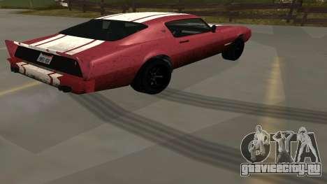 Phoenix из GTA V для GTA San Andreas вид слева
