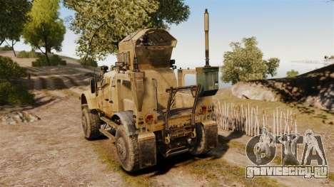 Oshkosh M-ATV для GTA 4 вид сзади слева