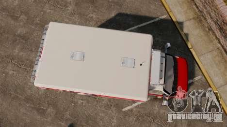 Ford E-350 LCFR [ELS] для GTA 4 вид справа
