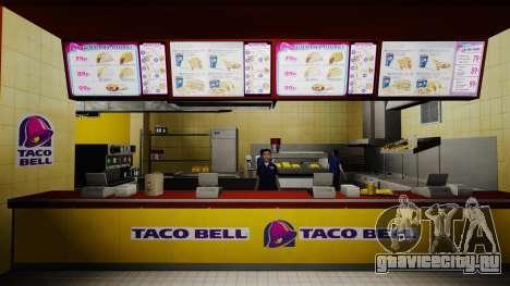 Рестораны McDonalds и Taco Bell для GTA 4 шестой скриншот