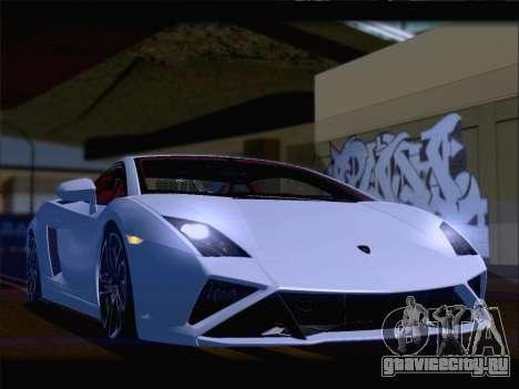 Lamborghini Gallardo 2013 для GTA San Andreas вид снизу
