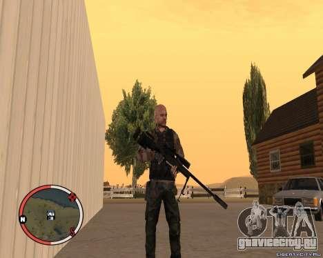 L115A3 Sniper Rifle для GTA San Andreas второй скриншот