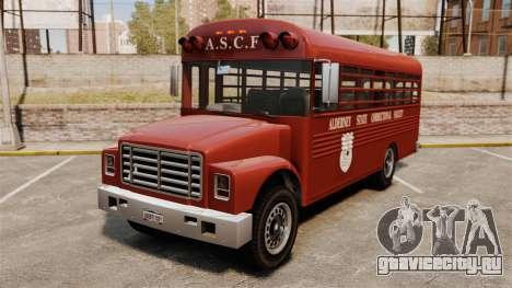 GTA IV TLAD Prison Bus для GTA 4