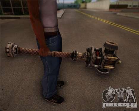 Бита мутантов из Fallout 3 для GTA San Andreas четвёртый скриншот