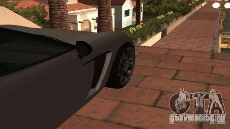 Carbonizzare из GTA 5 для GTA San Andreas вид сзади