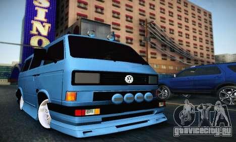 Volkswagen Transporter T2 Tuning для GTA San Andreas