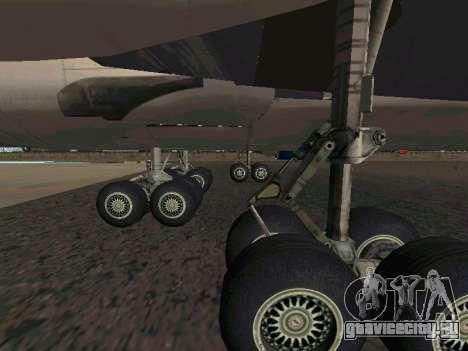 Boeing-747 Dream Lifter для GTA San Andreas вид справа