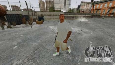 Франклин Клинтон v3 для GTA 4 второй скриншот