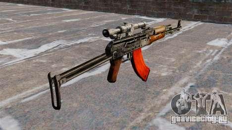 Автомат АКМС для GTA 4 второй скриншот