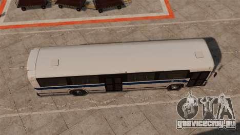 MCI Classic TC40-102A 1988 New York City для GTA 4 вид справа