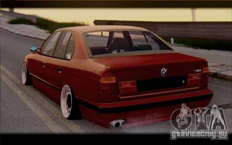 BMW E34 для GTA San Andreas вид слева