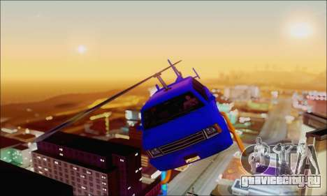 Fun Maverick для GTA San Andreas вид сзади