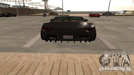 Carbonizzare из GTA 5 для GTA San Andreas вид изнутри
