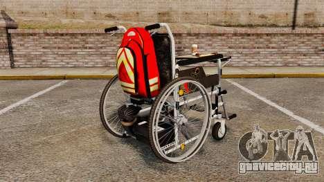 Funny Wheelchair для GTA 4 вид сзади слева