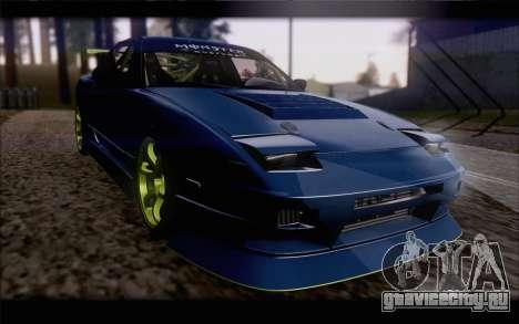 Nissan 240sx drift для GTA San Andreas вид изнутри