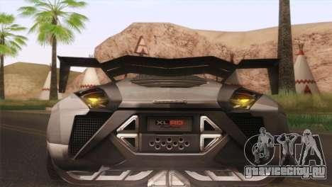 SuperMotoXL CONXERTO v2.0 для GTA San Andreas вид изнутри