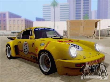Porsche 911 RSR 3.3 skinpack 1 для GTA San Andreas колёса
