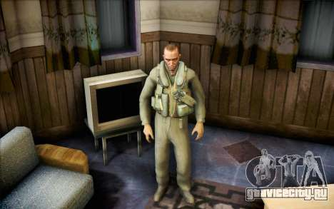 Николай из Call of Duty MW2 для GTA San Andreas второй скриншот