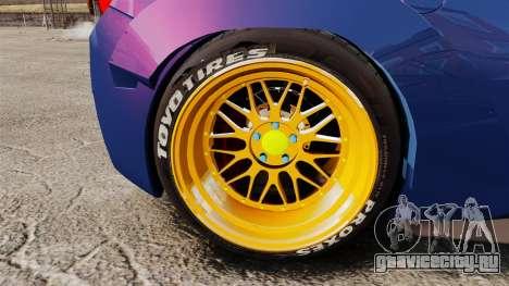 Ferrari 458 Italia Liberty Walk для GTA 4 вид сзади