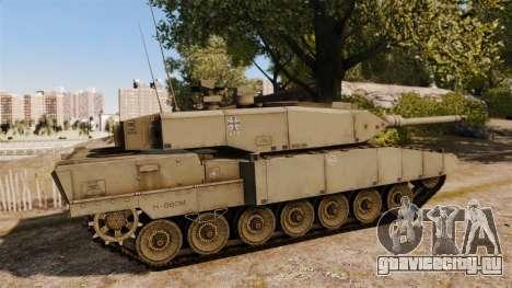 Leopard 2A7 для GTA 4 вид слева