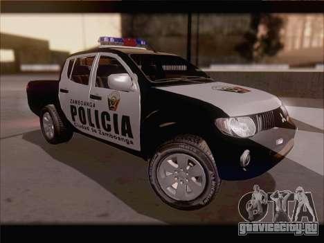 Mitsubishi L200 POLICIA для GTA San Andreas