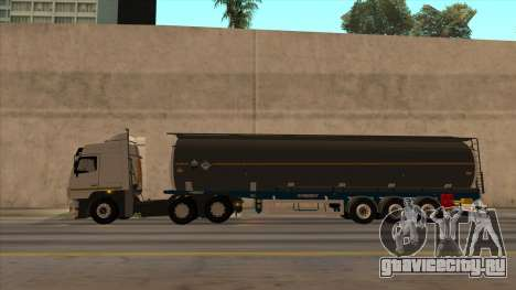 Цистерна SMAT для GTA San Andreas вид сзади слева