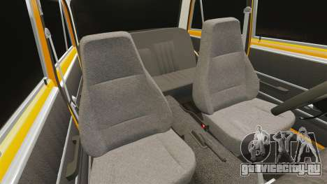 ВАЗ-2101 тюнинг для GTA 4 вид сверху