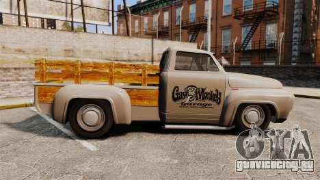 Hot Rod Truck Gas Monkey v2.0 для GTA 4 вид слева