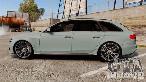 Audi RS4 Avant для GTA 4 вид слева