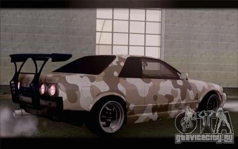 Nissan Skyline GTS Drift Spec для GTA San Andreas вид слева