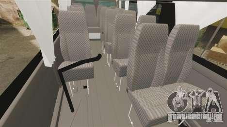 Ford Transit Passenger для GTA 4 вид изнутри