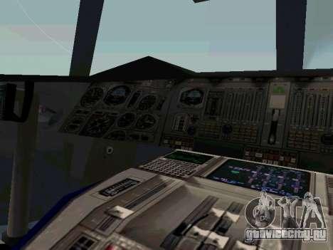 Boeing-747-400 Airforce one для GTA San Andreas вид сзади