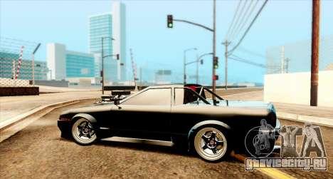 Elegy pickup v2.0 для GTA San Andreas вид сзади слева