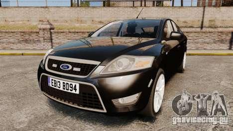 Ford Mondeo Unmarked Police [ELS] для GTA 4