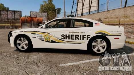 Dodge Charger RT 2012 Police [ELS] для GTA 4 вид слева