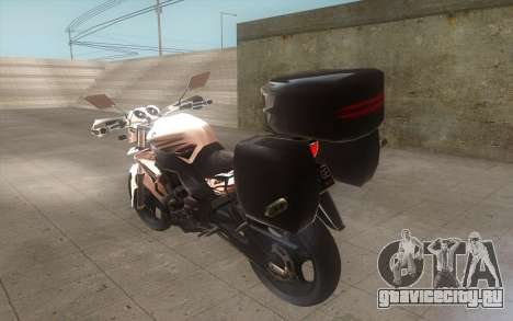 Yamaha V-ixion 150cc 2012 Touring Edition для GTA San Andreas вид слева