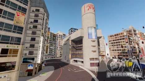 Локация Shibuya для GTA 4 пятый скриншот