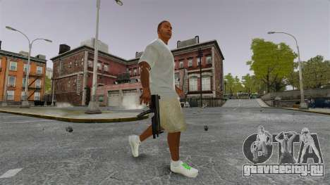 Франклин Клинтон v3 для GTA 4 четвёртый скриншот