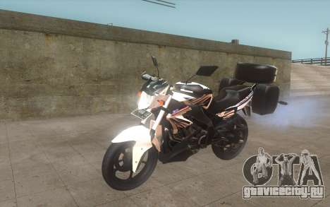 Yamaha V-ixion 150cc 2012 Touring Edition для GTA San Andreas