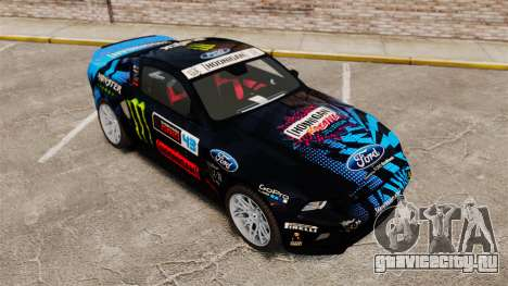 Ford Mustang GT 2013 Widebody NFS Edition для GTA 4 вид сверху