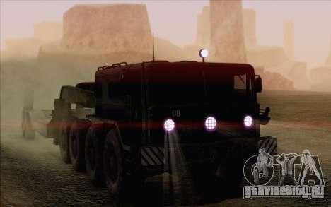 МАЗ 535 для GTA San Andreas вид сверху