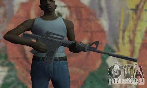 M4A1 из Saints Row 2 для GTA San Andreas третий скриншот