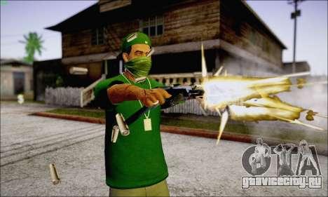 Lamar Davis GTA V для GTA San Andreas