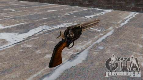 Револьвер Colt Peacemaker для GTA 4 второй скриншот