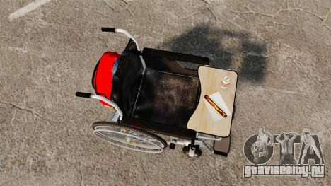 Funny Wheelchair для GTA 4 вид справа