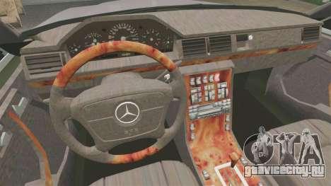 Mercedes-Benz S600 W140 для GTA 4 вид сзади
