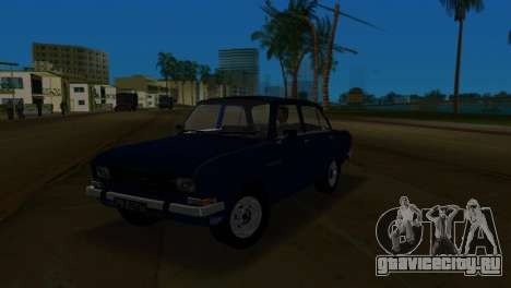 АЗЛК 2140 для GTA Vice City вид сзади слева