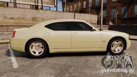 Dodge Charger RT Hemi 2007 для GTA 4 вид слева