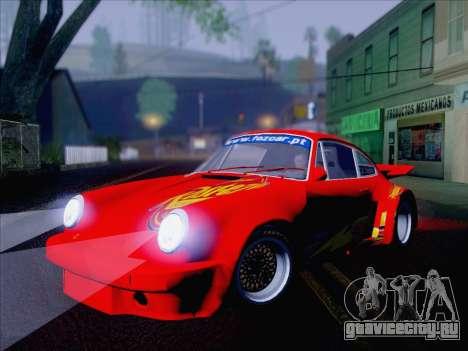 Porsche 911 RSR 3.3 skinpack 6 для GTA San Andreas вид справа